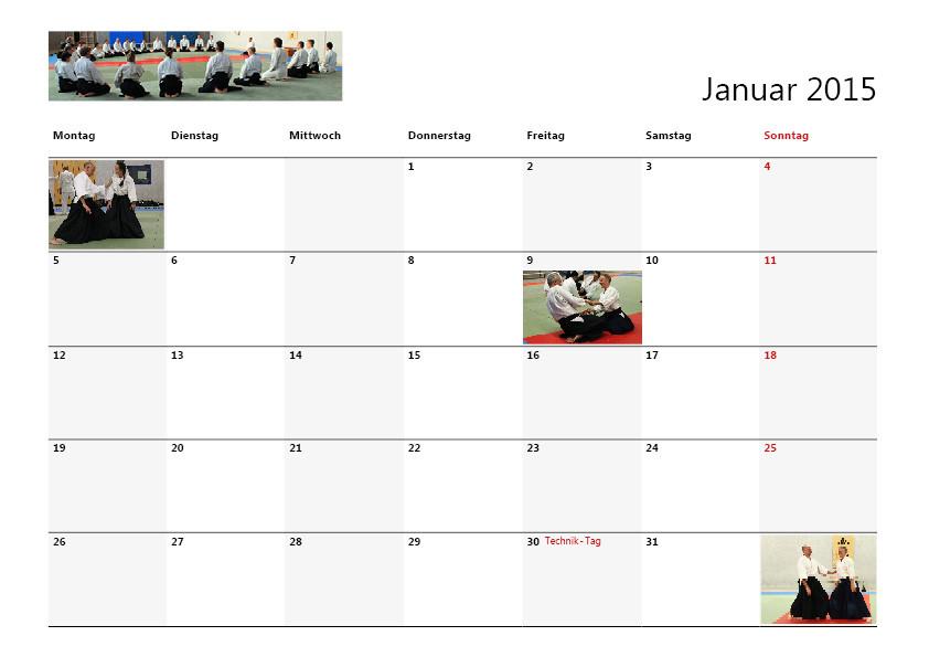 Kalender Gestaltung für einen Verein, Layout von Werbeagentur Moers