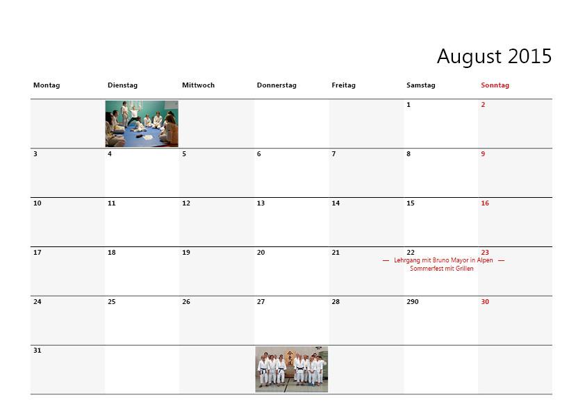 Vereinskalender Gestaltung, Layout von Grafik Design in Moers