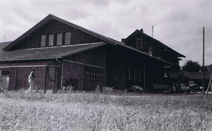Neubau 1950/51