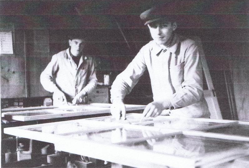Hugo Stöckli sen. (links) & Leo Müller (rechts)