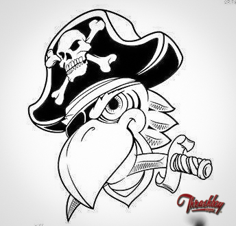 The Road Pirates, Club-logo commission work, (Belgium)