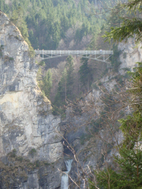 Mary's Bridge over Pöllat gorge