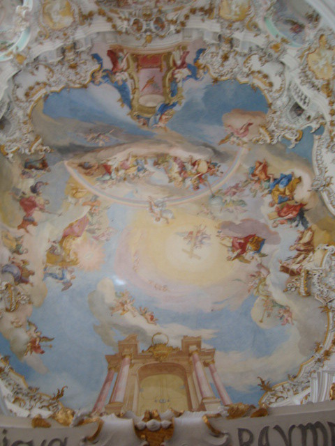 Fresco at Wieskirche