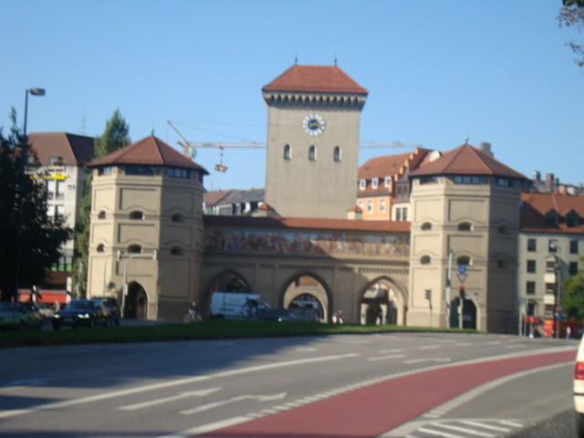 Medieval City Gate Isartor