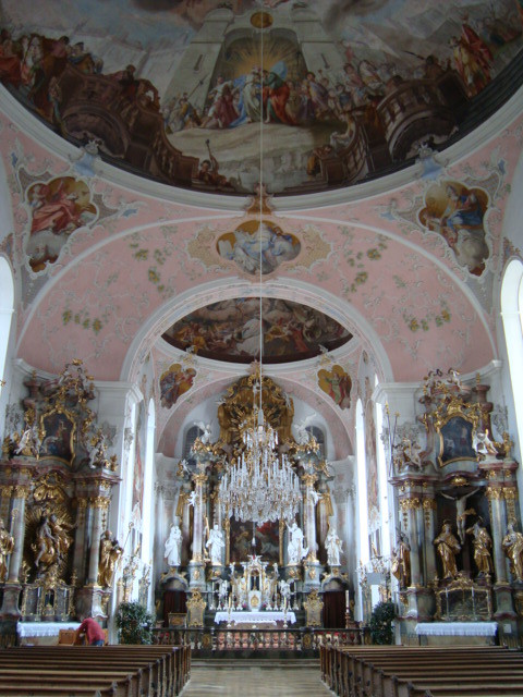 St Peter and Paul in Oberammergau