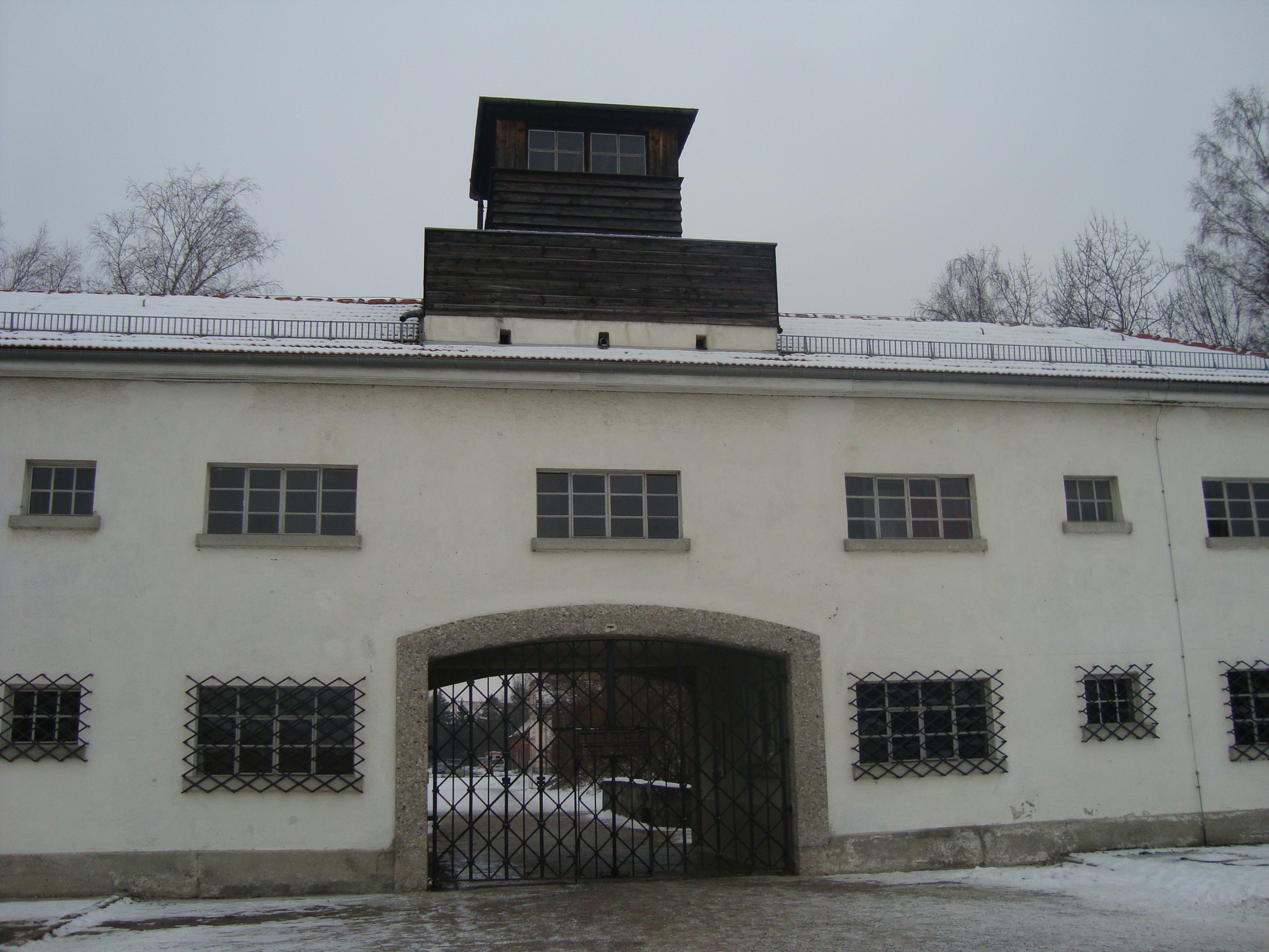 Entrance to the concentration camp