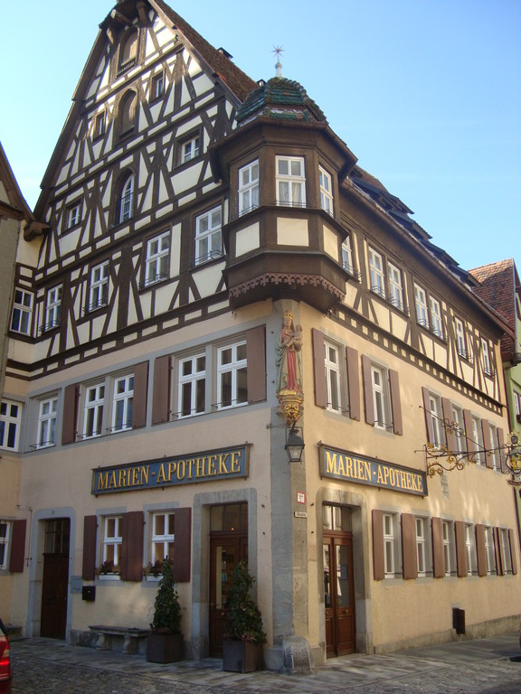 Typical half-timbered House
