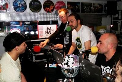 Teddy Voxhall, Michael-M, Terry, Mike, Karine - Planete Inside 10 / Mars 2011
