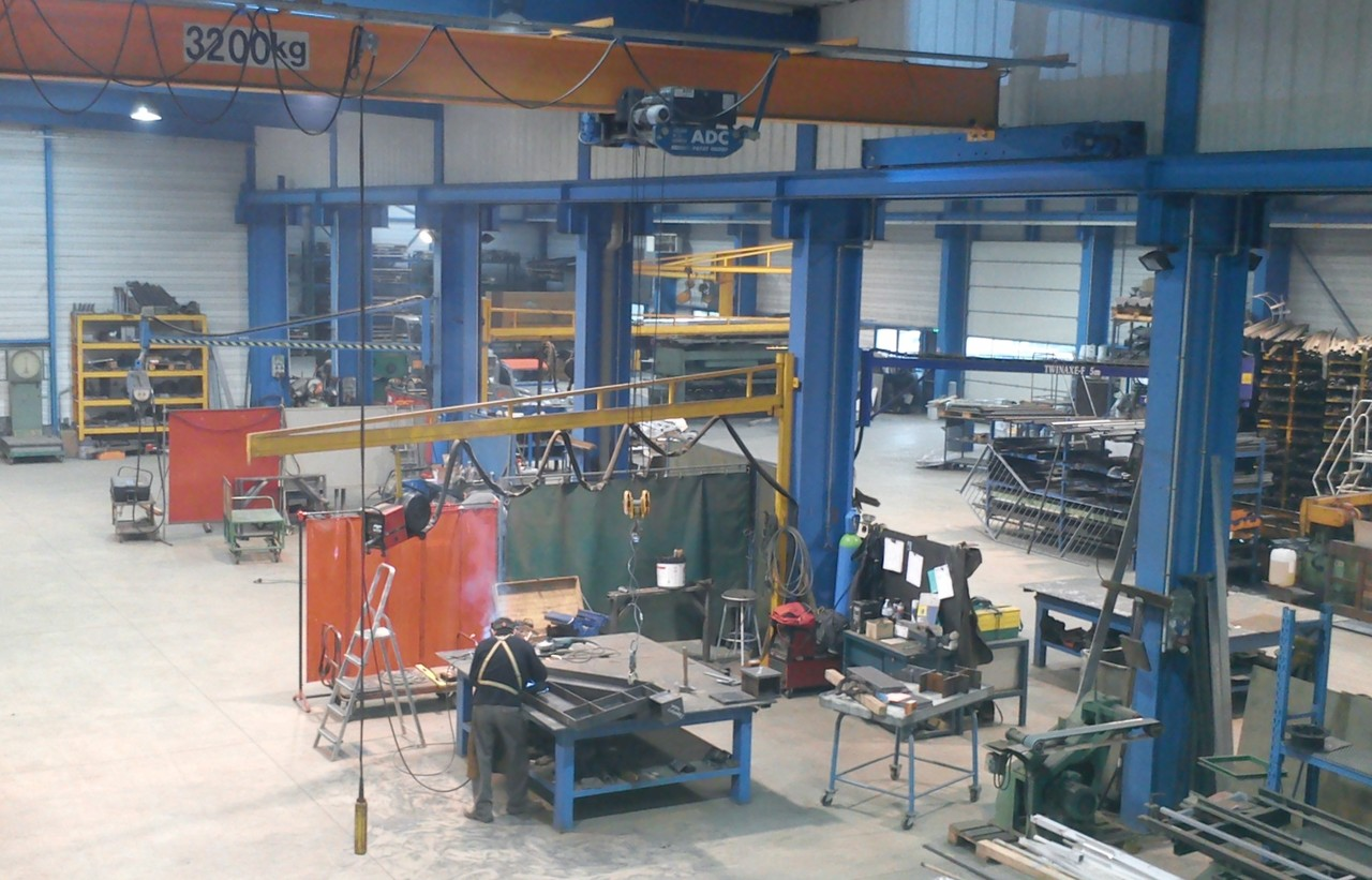 Notre entreprise metalleriefrancois35 for Bains s oust