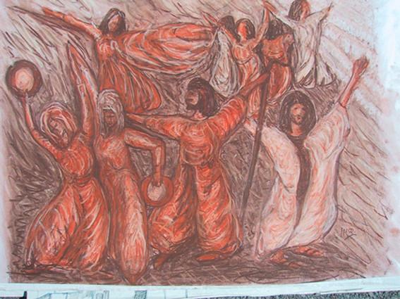 Bibel-Miriam tanzt