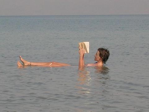 En el Mar Muerto, Israel