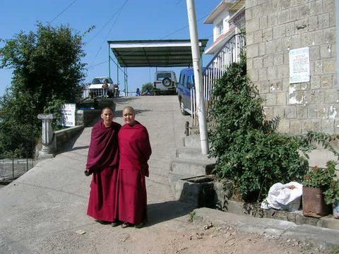 Las monjas budistas