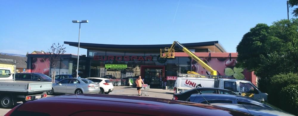 7. Aug. Erneuerung der Blechkonstruktion am Dach