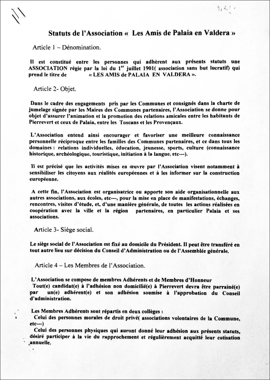 Statut page 1