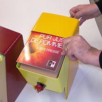 """""""Fly Bib"""" présentoir à Bag in Box (Modèle déposé®)"""