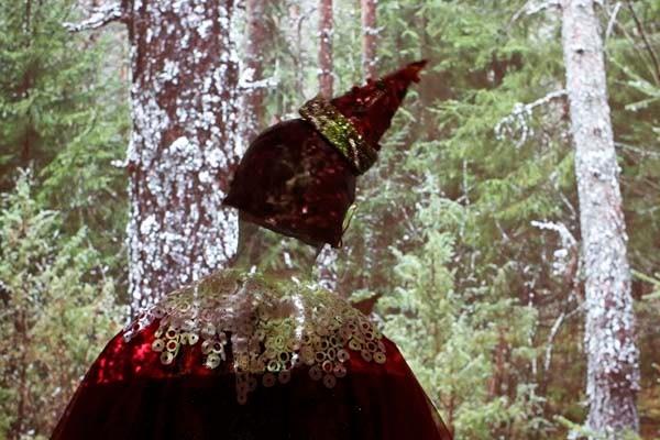 Roncalli-Clown im Vanished Forest von Tviga Vasilyeva & Igor Line, 2013