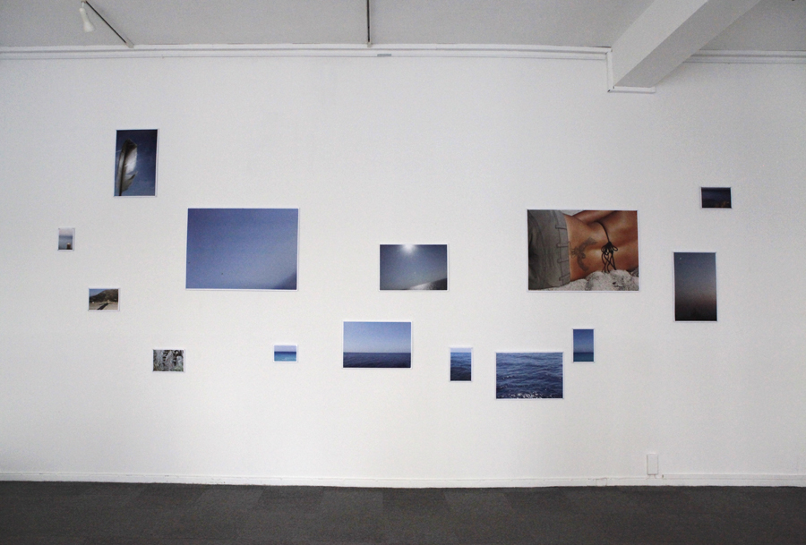 Icarus wants to fly, Ausstellungsansicht, 14teilig, Kunst-Quartier, Osnabrück 2012