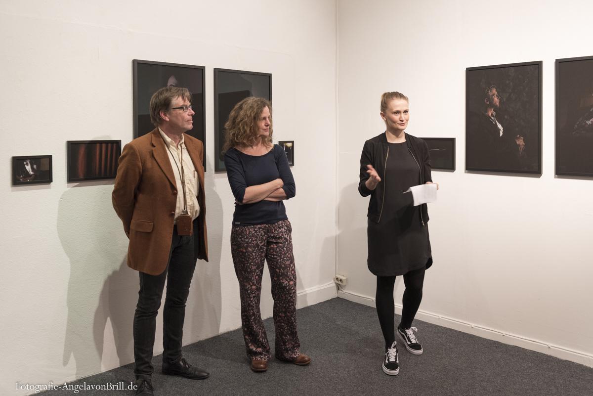 Thomas Bartels, Kerstin Hehmann und Julia Scheck (Eröffnungsrede)
