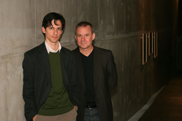 Joachim Krol und Herr Steinaecker, Osnabrück 2007