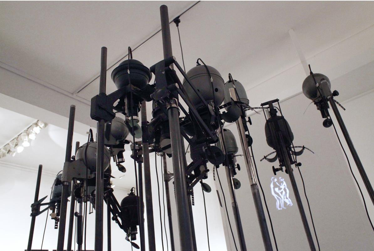 Installation von Thomas Bartels