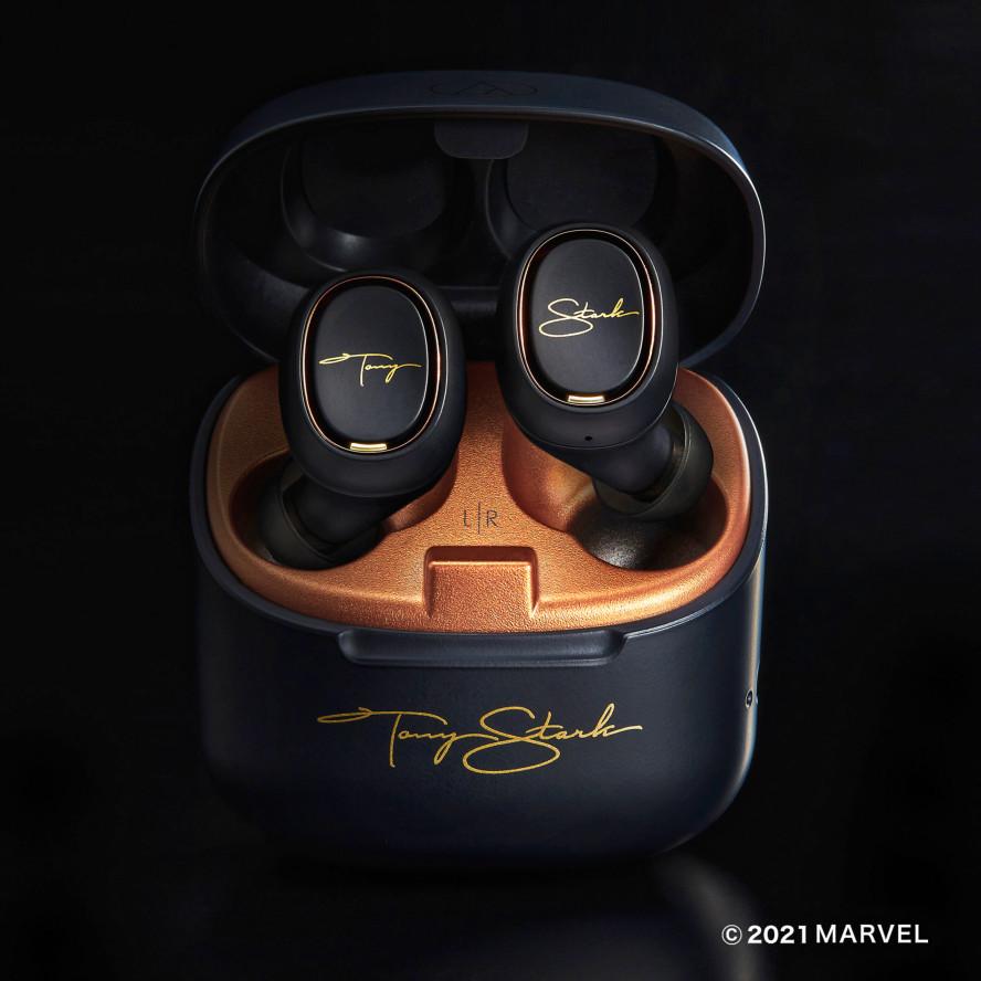 最終在庫品切れ間近、MARVEL人工知能を再現した音声ガイド付きワイヤレスイヤホン