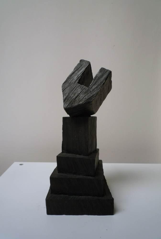 WERNER POKORNY, Spiel IX, 2010/12, Bronzeguss, 28 x 12 x 12, Aufl. 7+ea