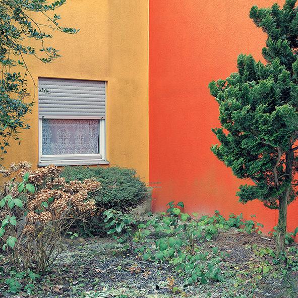 Peter Braunholz, ECKE VII, 60 x 60 cm, Archivpigmentprint auf Hahnemühle Photo Rag Ultra Smooth Halbe Objektahmen mit Mirogard Museumsglas, Nr. 2/13+2AP
