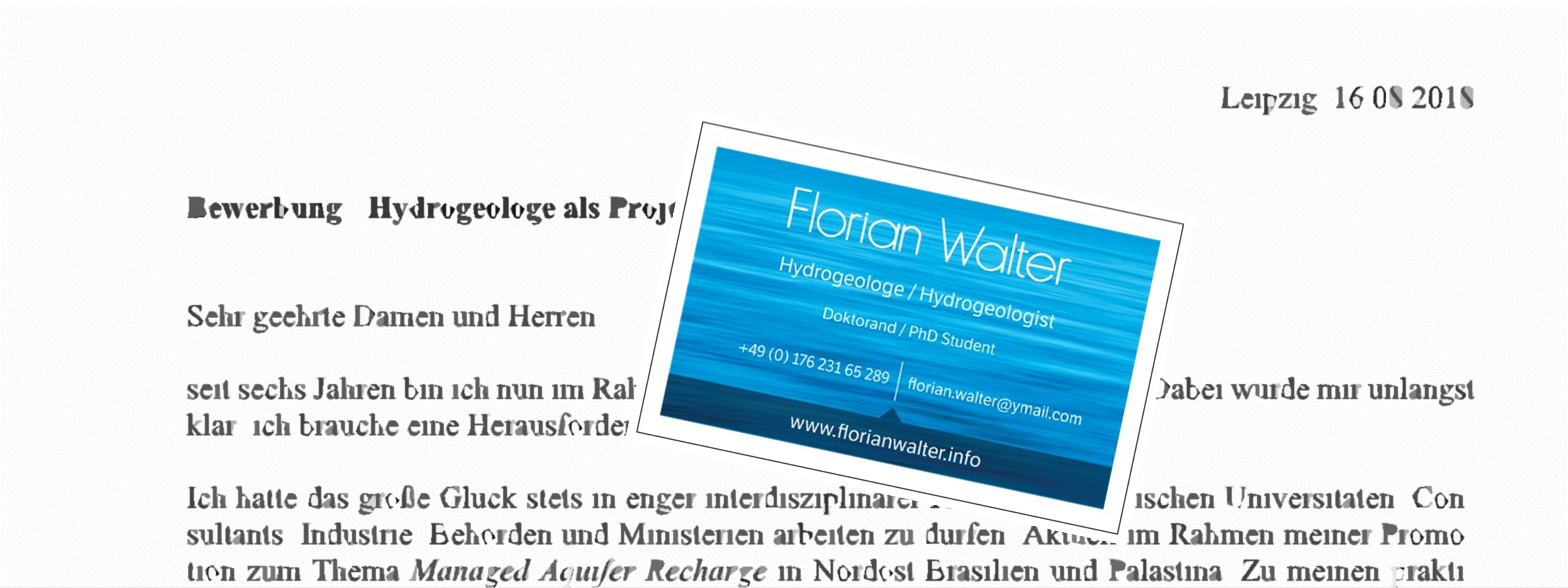 Promotion - florianwalters Webseite!