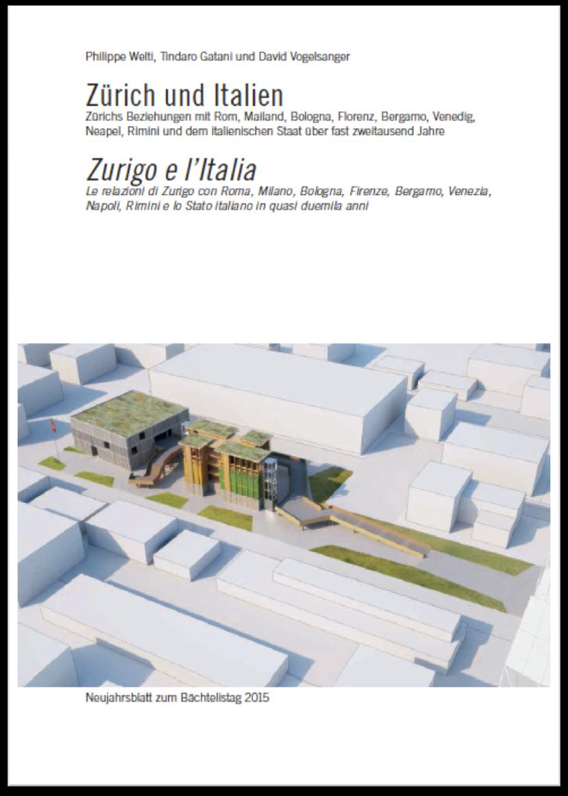 Neujahrsblatt 2015