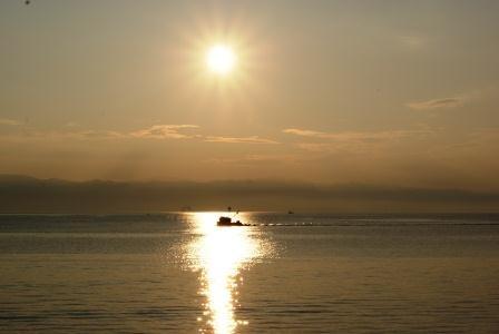 Sonnenuntergang über der Kvarner Bucht/Kroatien
