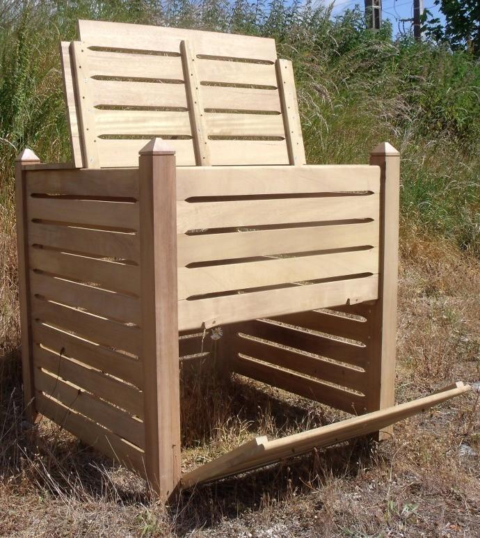 Composteurs en bois massif vente de produits en bois - Leroy merlin composteur ...