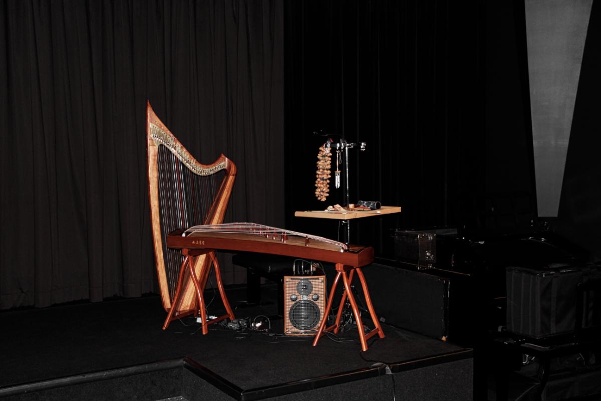 """String-Setup für """"The Lodger"""" von Hitchcock"""