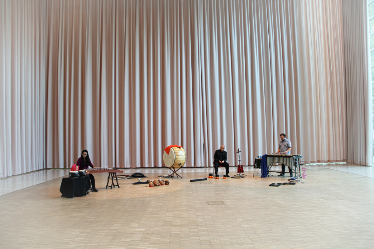 Workshop im RWE Pavillon Philharmonie Essen