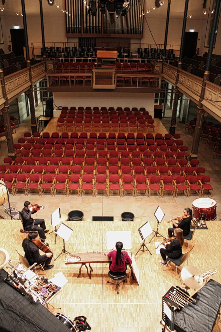 Konzert für Zheng & Streichquartett von Tan Dun