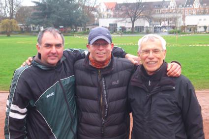 v.l. Michael Sauer, Torsten Breuer, Walter Schneider