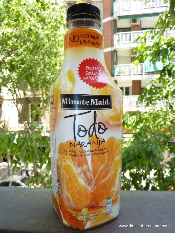 Minute Maid Todo Naranja, botella 1,5l