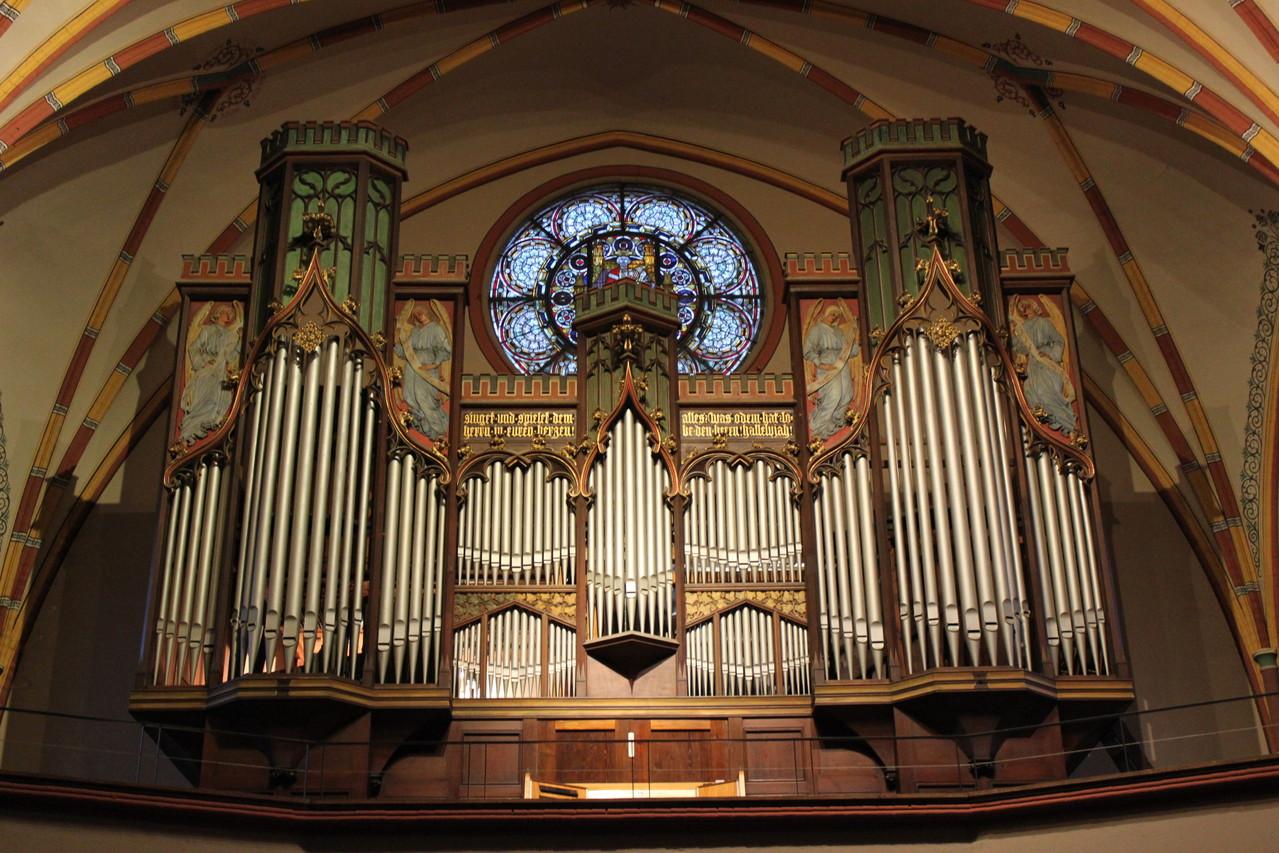 Rühlmann Orgel von 1903 aus der Pauluskirche Halle Saale