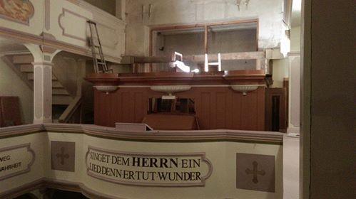 Instandsetzung der Rühlmann Orgel von 1913 Opus 366 in der Cyriakus Kirche Mittelhausen