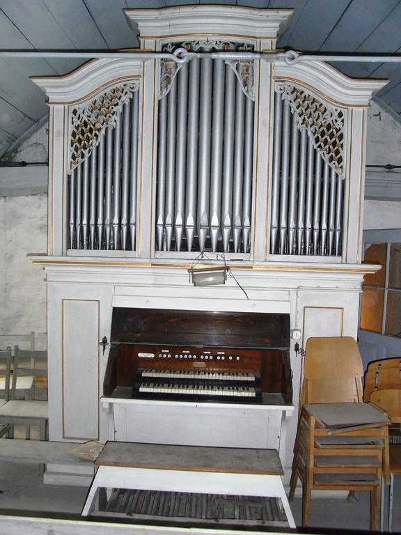 Evang. Dorfkirche Merkewitz Fleischer & Kindermann Orgelbau-Anstalt Dessau von 1912