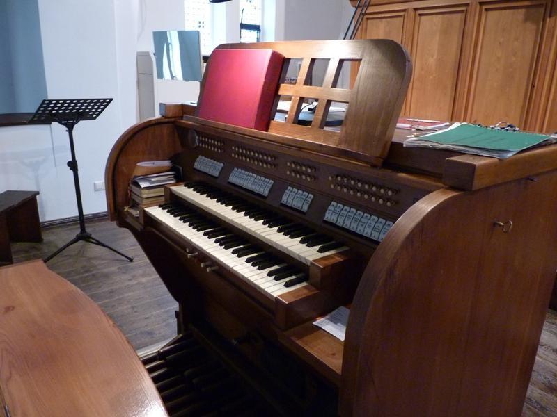 Abbau der Eule Orgel von 1952