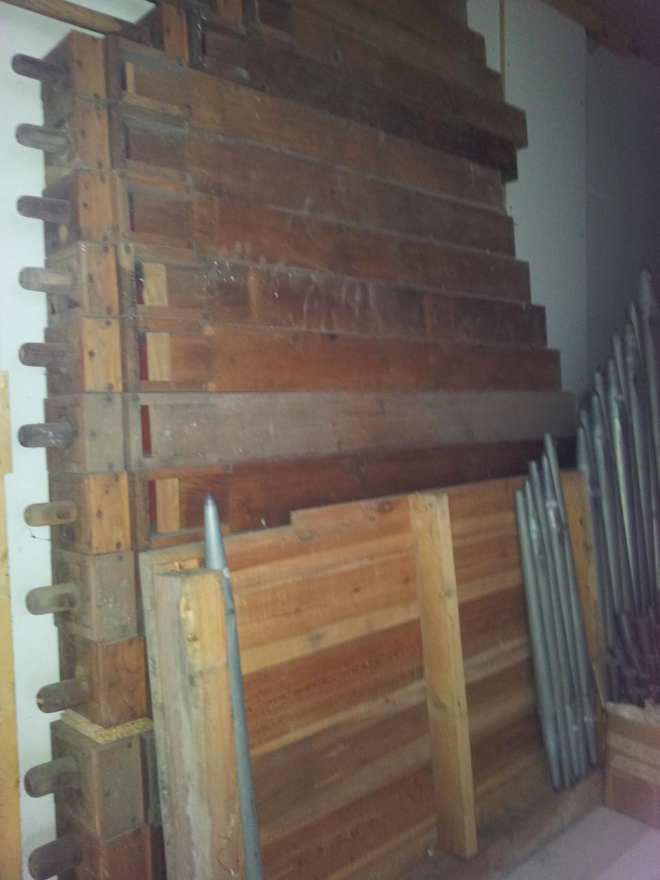 Reparatur der Orgel in Osmünde