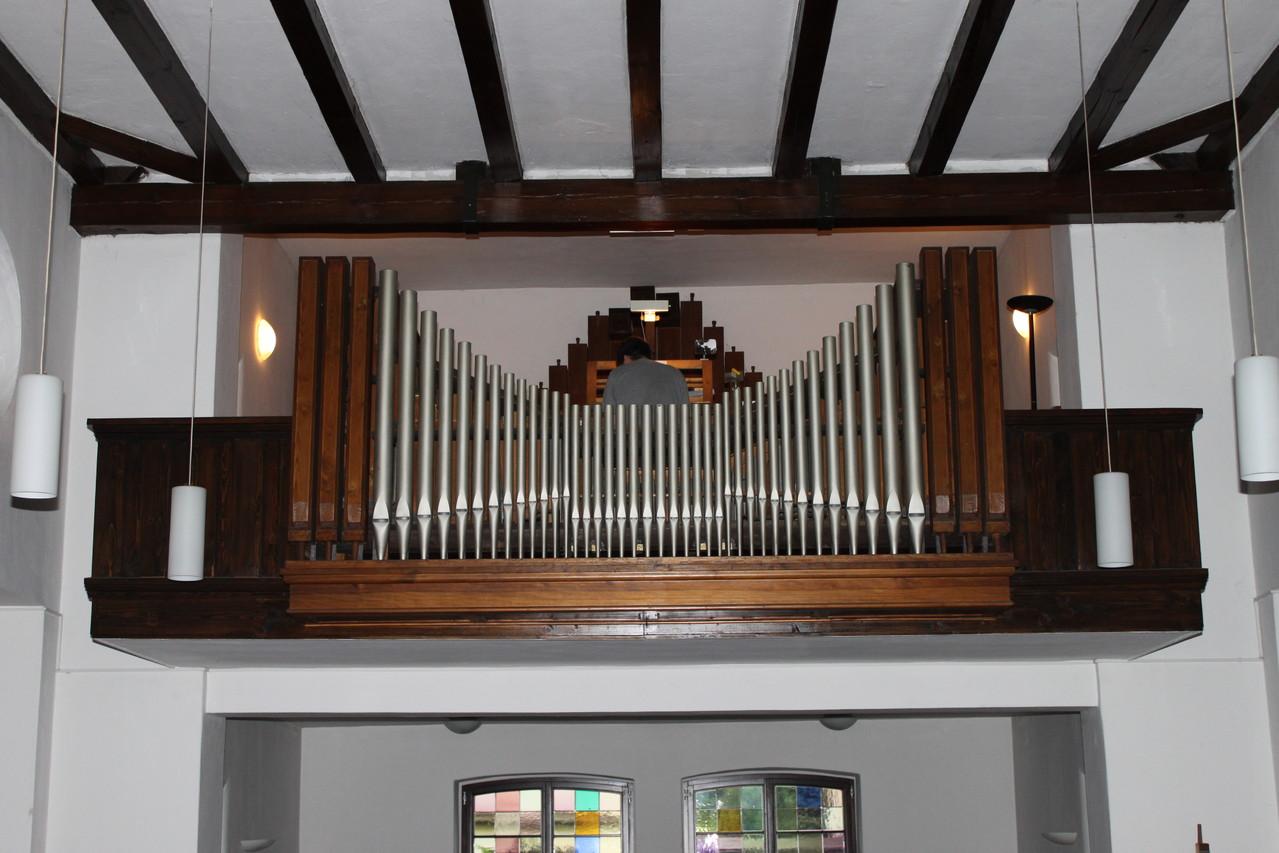 Heilandskirche Halle-Heiland Schuster & Sohn Orgel