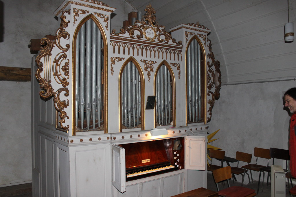 Evang. Kirche St.-Nikolai Gutenberg, Benemann Orgelbau Halle