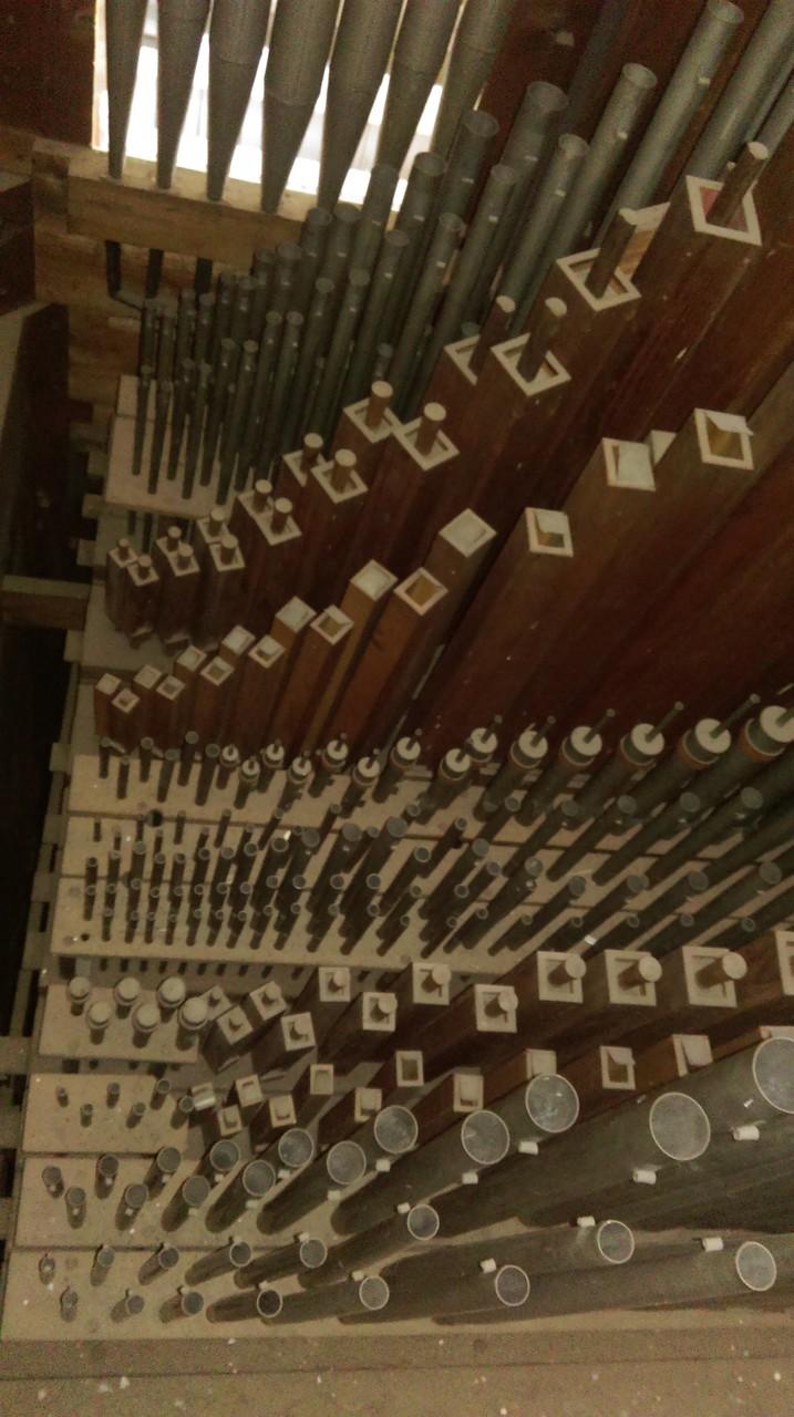 Rühlmann Orgel von 1880 in der Christuskirche Bobbau