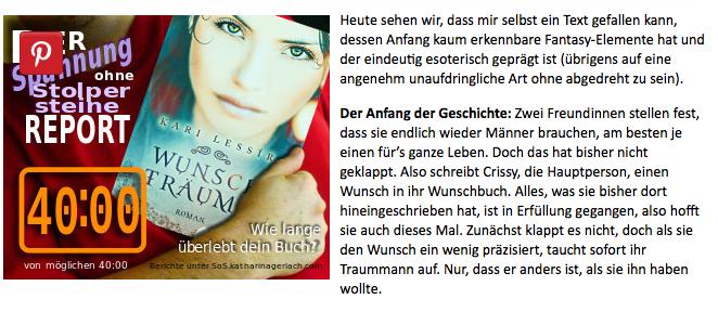 Mit einem Klick geht's direkt zur SoS-Website von Katharina Gerlach
