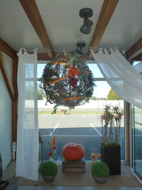 notre vitrine d'octobre