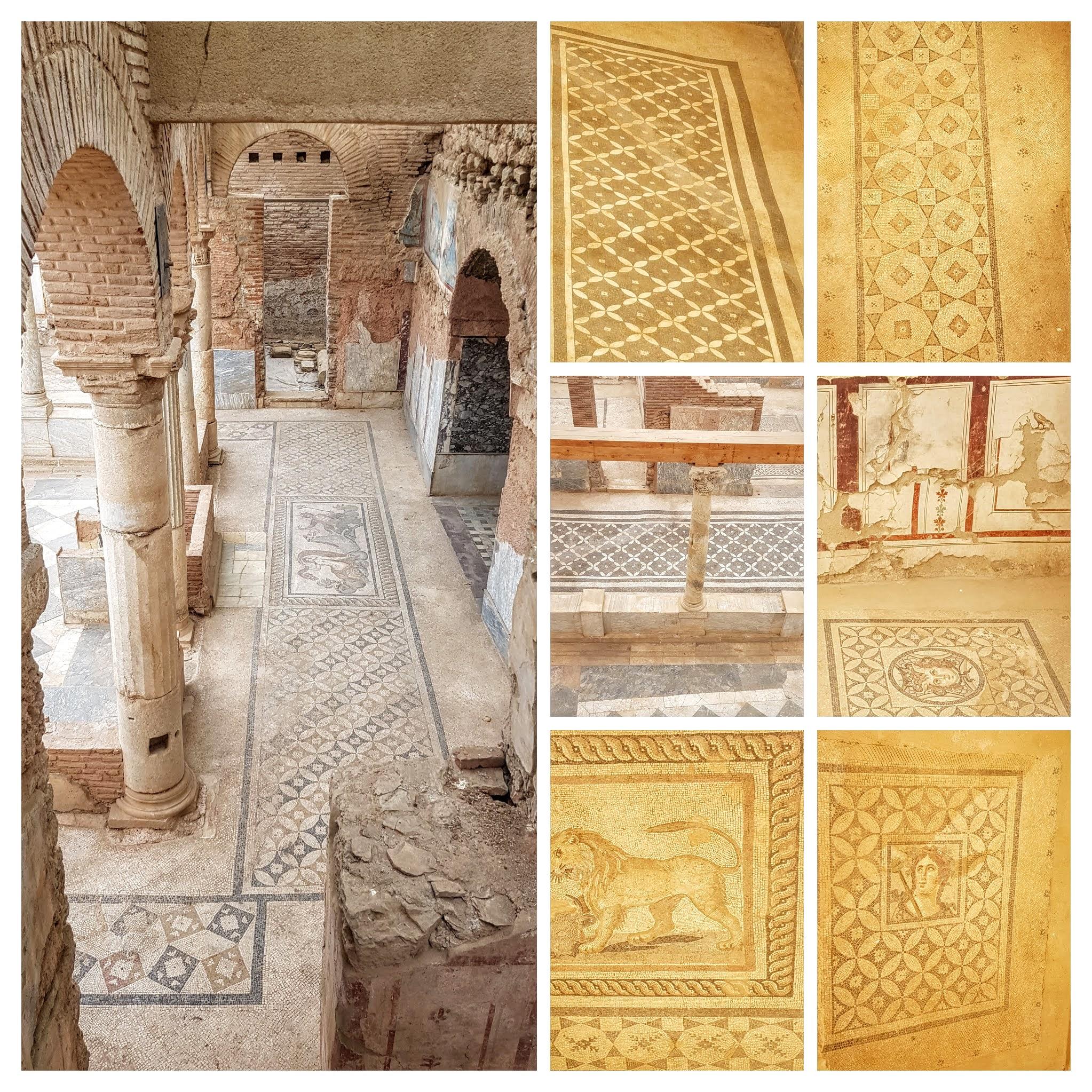Efeze, vloermozaieken