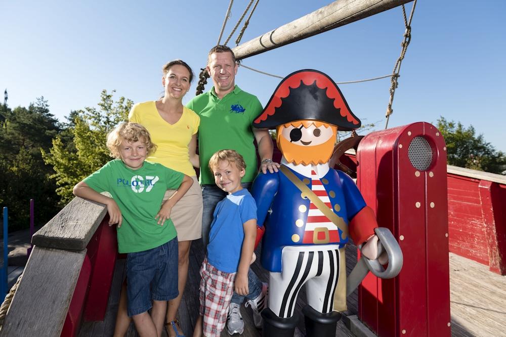 Piratenschiff im Playmobil Funpark Nürnberg