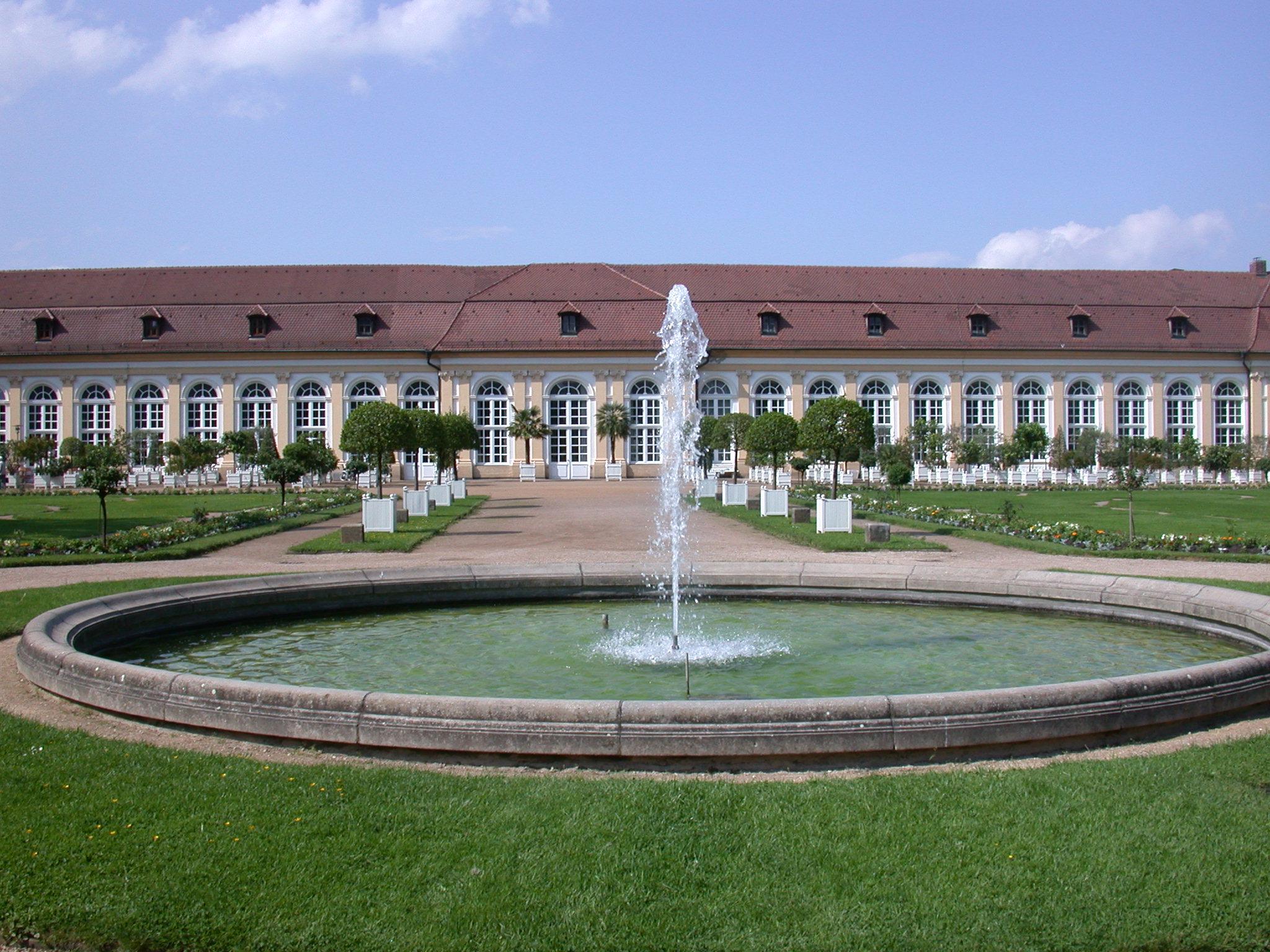 Orangerie in Ansbach