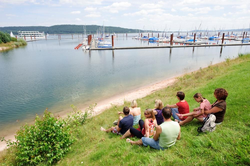 Familienausflug am Rothsee